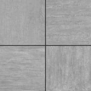 Pietra Chrome 24 in. x 24 in. x 0.75 in. Porcelain Paver
