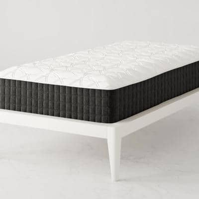 """Contour Comfort 12"""" Medium-Firm Independently Encased Coil Tight-Top Twin Mattress"""