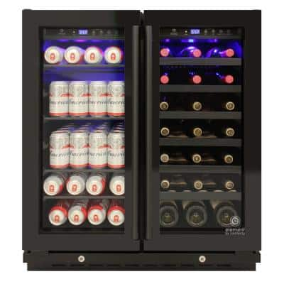 29.5 in. W 33-Bottle Wine and Beverage Cooler