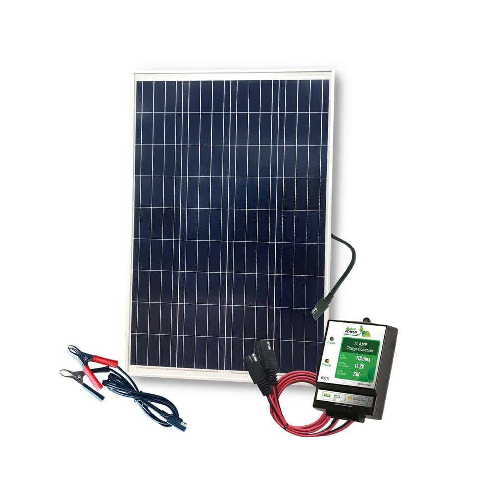 100 Watt Solar Kit with 11 Amp Charge Controller
