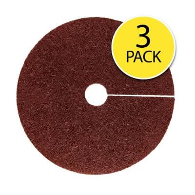 0.5 in. x 24 in. Red Recycled Rubber Tree Ring (3-Pack)