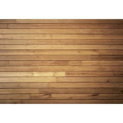 Cozy Wooden Wall Wall Mural