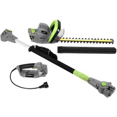 2 in 1, 18 in. 4.5 Amp Electric Multi-Tool Pole/Hedge Trimmer