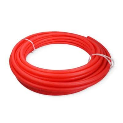3/4 in. x 300 ft. PEX Tubing Oxygen Barrier Radiant Heating Pipe in Red