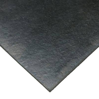Neoprene 1/4 in. Thick x 36 in. Length x 120 in. Width Commercial Grade - 60A Rubber Sheet