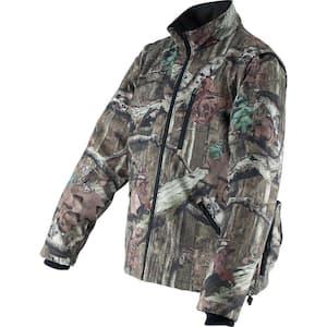 Men's 2X-Large Mossy Oak Camo 18-Volt LXT Lithium-Ion Cordless Heated Jacket (Jacket Only)