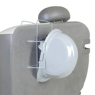 Hard Hat Rack Seat Mount
