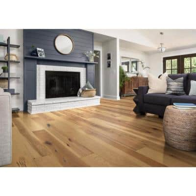 Valor Hickory Scallion 1/2 in. T x 6-3/8 in. W x Varying Length Water Resistant Engineered Hardwood (25.40 sq. ft.)
