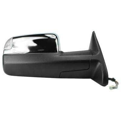 Towing Mirror for 09-12 Dodge Ram 1500 10-12 2500 10-11 3500 GPC with Signal and Puddle Folding RH Heated Power