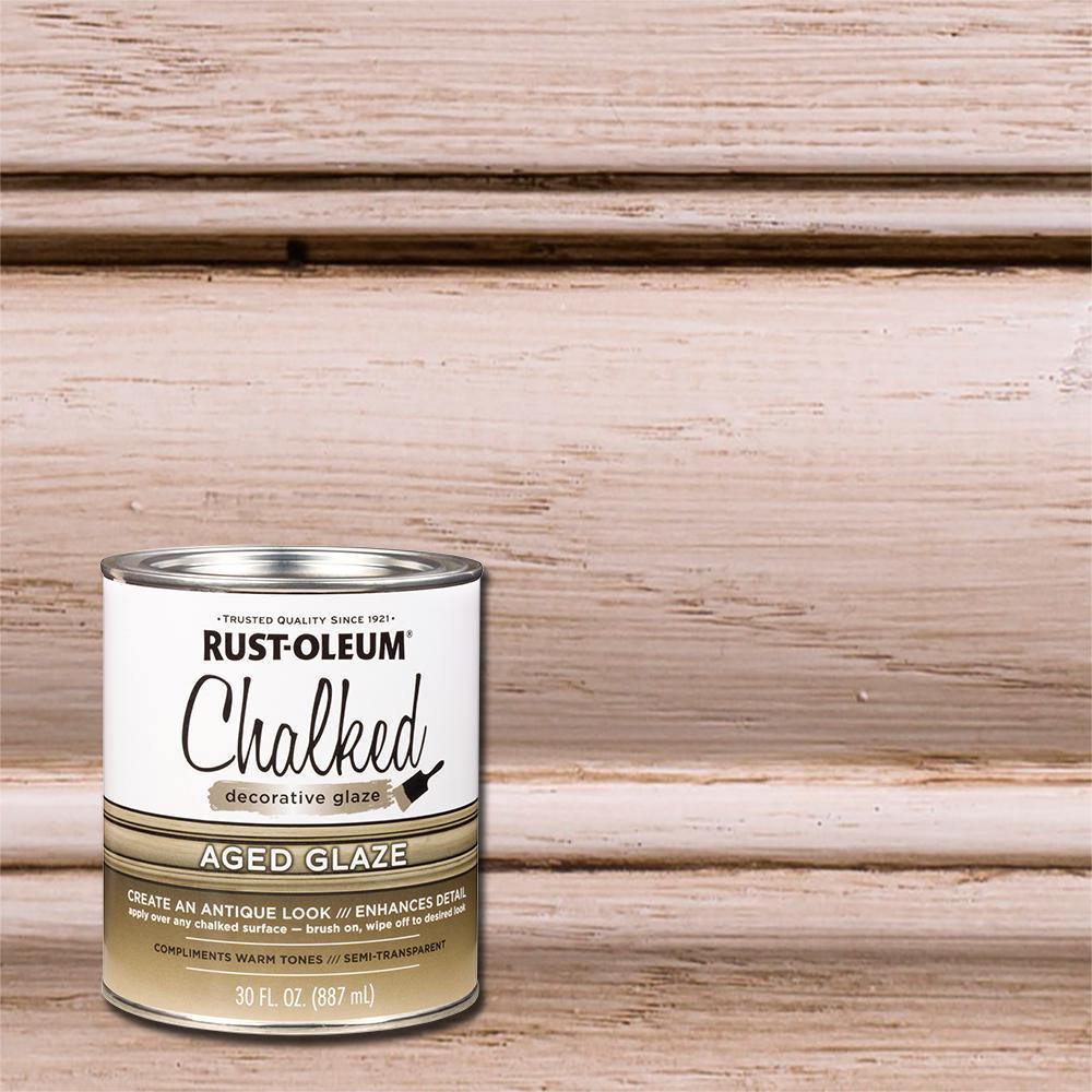 30 oz. Chalked Aged Decorative Glaze (2-Pack)