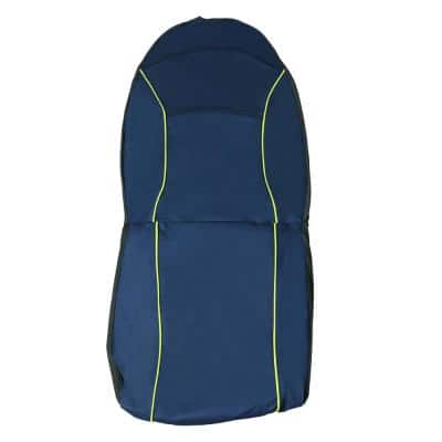 Blue Open Road Mess-Free Single Seated Safety Car Seat Cover