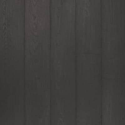 Defense+ 6.14 in. W Night Shadow Oak Antimicrobial Waterproof Laminate Wood Flooring (16.12 sq. ft./case)