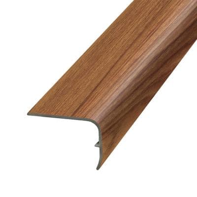 Spice 1.32 in. Thick x 1.88 in. Wide x 78.7 in. Length Vinyl Stair Nose Molding