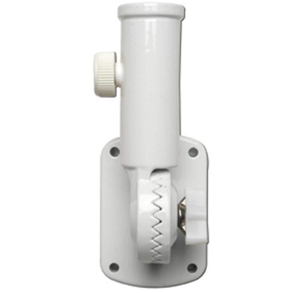 1 Pc Plastic Adjustable Flag Pole Bracket Holder Wind Resistant Pole Holder