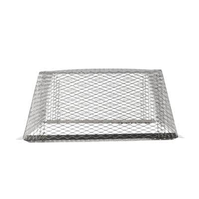 VentGuard 25 in. x 25 in. x 12 in. Roof Wildlife Exclusion Screen in Stainless Steel