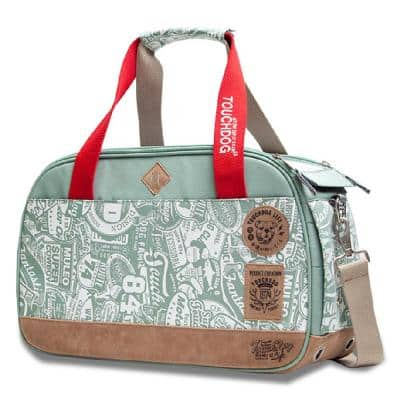 Green Airline Approved Around-The-Globe Passport Designer Pet Carrier