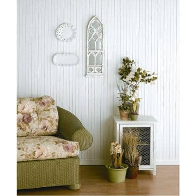 5/16 in. x 5-29/32 in. x 8 ft. MDF Wainscot Panel (3-Pieces)
