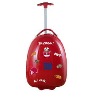 NFL New York Giants 18 in. Red Kids Pod Luggage Suitcase
