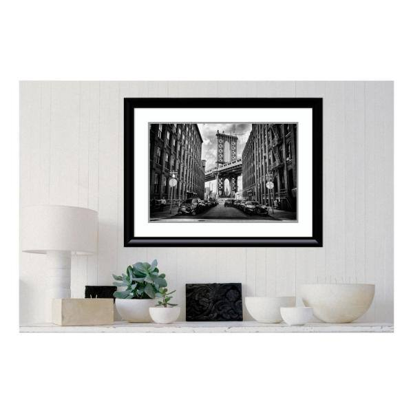 Amanti Art 36 In W X 27 In H In America By Lidia Vanhamme Printed Framed Wall Art Dsw4045950 The Home Depot