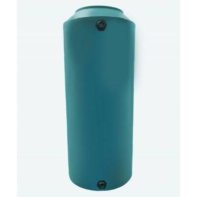 55 Gal. Green Vertical Water Storage Tank