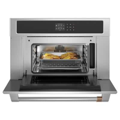 30 in. Single Electric Wall Oven With Convection and Steam in Stainless Steel