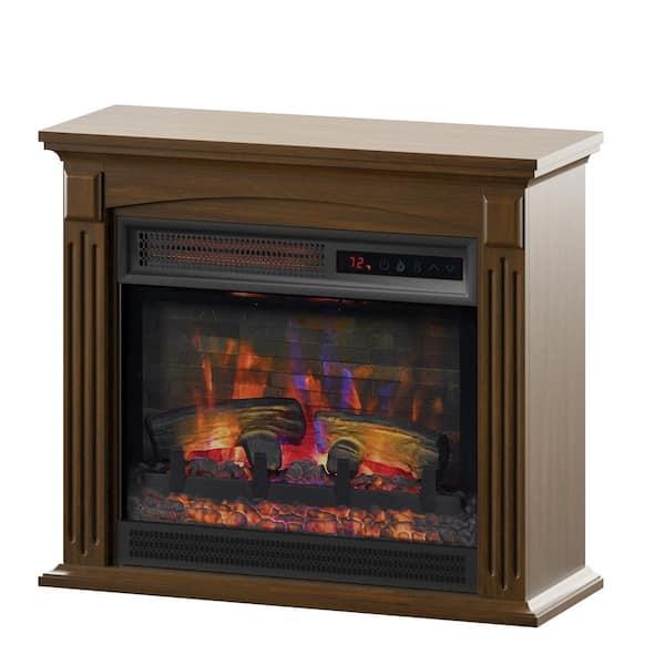 Duraflame 21 50 In Freestanding Wall, Quartz Electric Fireplace