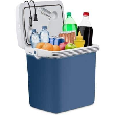 25L Portable Electric Cooler and Warmer - Great for Camping, Travel and Picnics