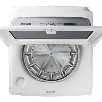 5.0 cu. ft. High-Efficiency in White Top Load Washing Machine with Super Speed, ENERGY STAR