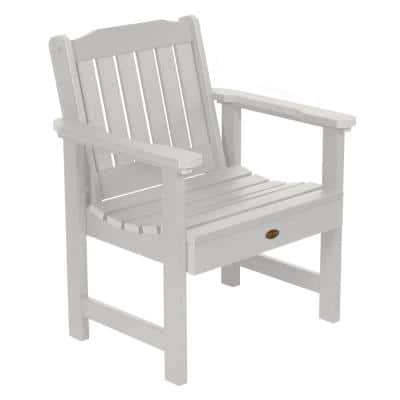 Springville White Stationary Plastic Outdoor Lounge Chair