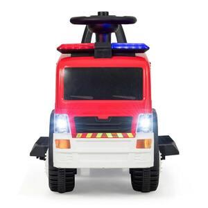 Kids 6-Volt Ride On Fire Truck Fire Engine Battery Powered with Siren