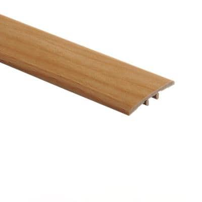 Blond Maple 5/16 in. Thick x 1-3/4 in. Wide x 72 in. Length Vinyl T-Molding