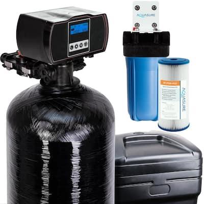 Harmony 48,000 Grain Fine Mesh Water Softener with Pleated Sediment Pre-Filter