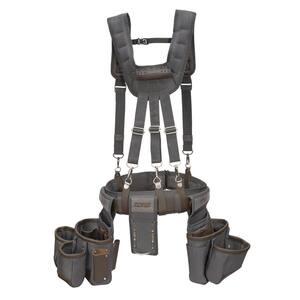 13-Pocket Framer's Tool Rig with Suspenders