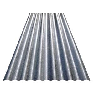 8 ft. Corrugated Galvanized Steel 31-Gauge Roof Panel