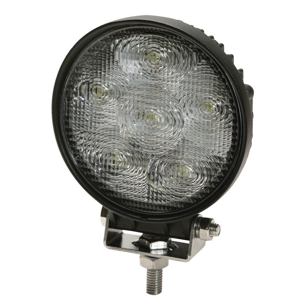4 in. 6 LED Round Flood Worklight