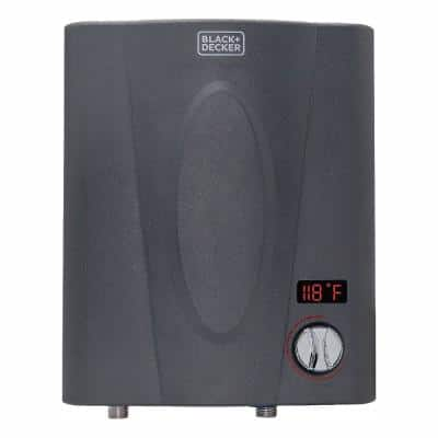 11 kW Self-Modulating 2.35 GPM Electric Tankless Water Heater, Point of Use hot water heater electric