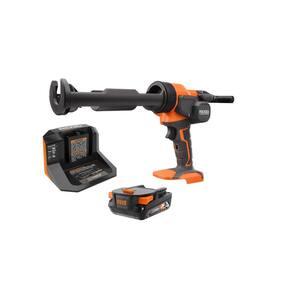 18V Cordless 10 oz. Caulk Gun and Adhesive Gun Kit with (1) 2.0 Ah Battery and Charger