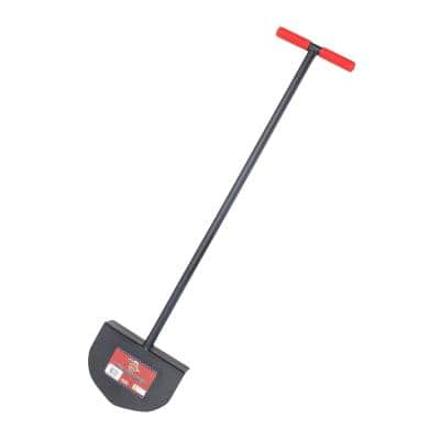 Round Lawn Edger with Steel T-Style Handle