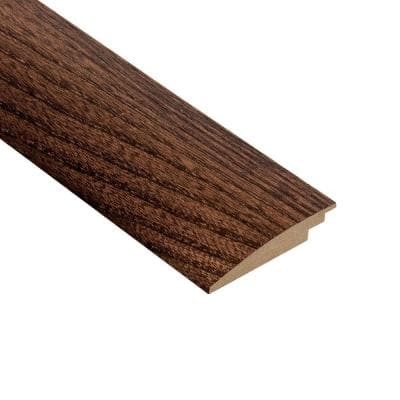 Elm Walnut 3/8 in. Thick x 2 in. Wide x 78 in. Length Hard Surface Reducer Molding