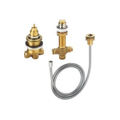 3-Hole Thermostatic Tub Filler Rough