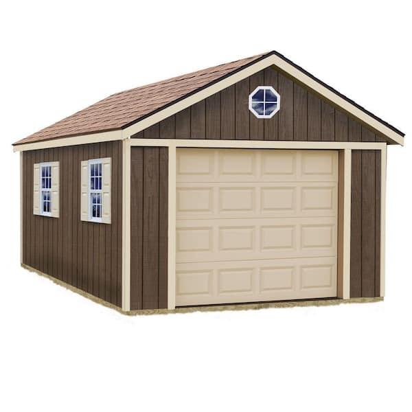 Best Barns Sierra 12 Ft X 16 Wood, Portable Car Garage Home Depot