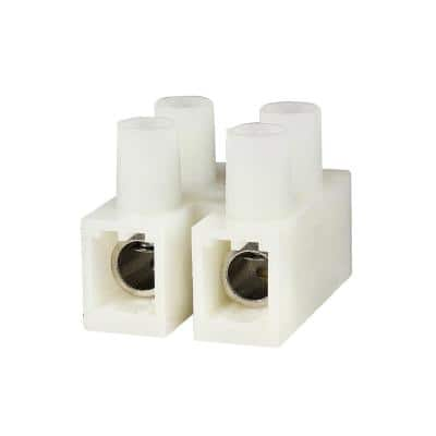 Euro Style Terminal Block 65 Amp 2 Position (25-Pack)