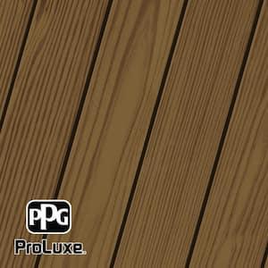 1 gal. #HDG-ST-213 Butternut SRD Exterior Semi-Transparent Matte Wood Finish