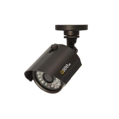 Wired 1080p Indoor or Outdoor Bullet Standard Surveillance Camera with 100 ft. Night Vision