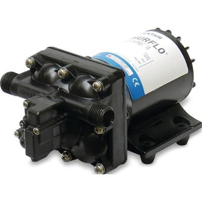 8-1/8 in. x 5 in. x 4-1/8 in. Aqua King II Black 55 PSI 3 GPM Automatic Fresh Water Pump