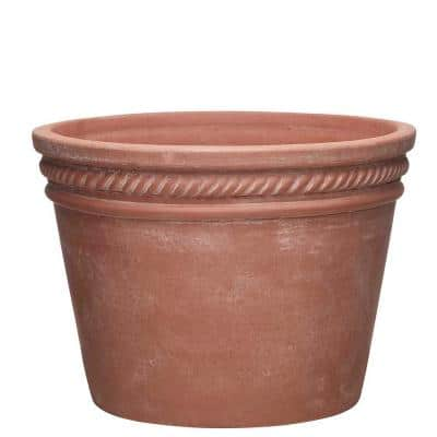 Michelle 15 in. x 10.6 in. Terracotta Clay Planter