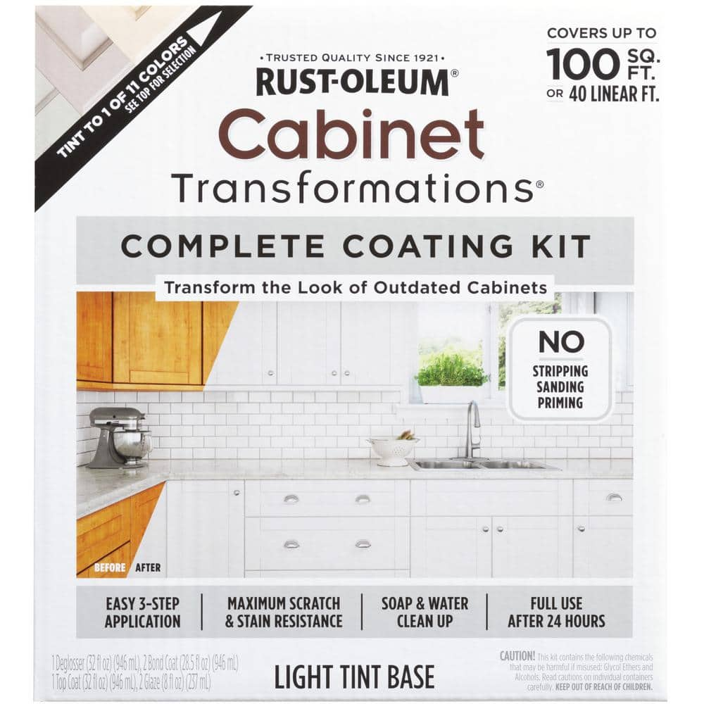 Paint Kit For Kitchen Cabinets