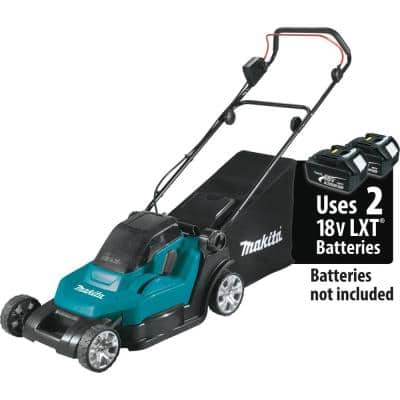 18-Volt X2 (36V) LXT Lithium-Ion Cordless 17 in. Walk Behind Residential Lawn Mower, Tool Only