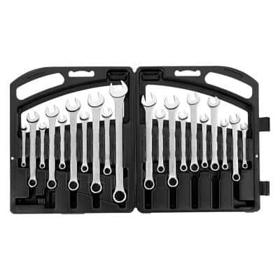 Satin Combination Wrench Set (20-Piece)