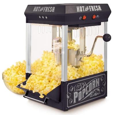 390-Watts 2.5 oz. Black Kettle Popcorn Maker